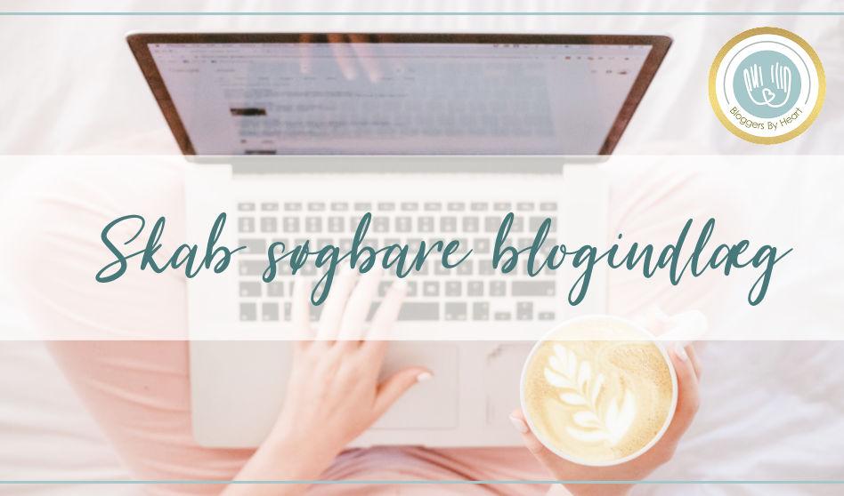Kvinde skrivers søgbare blogindlæg