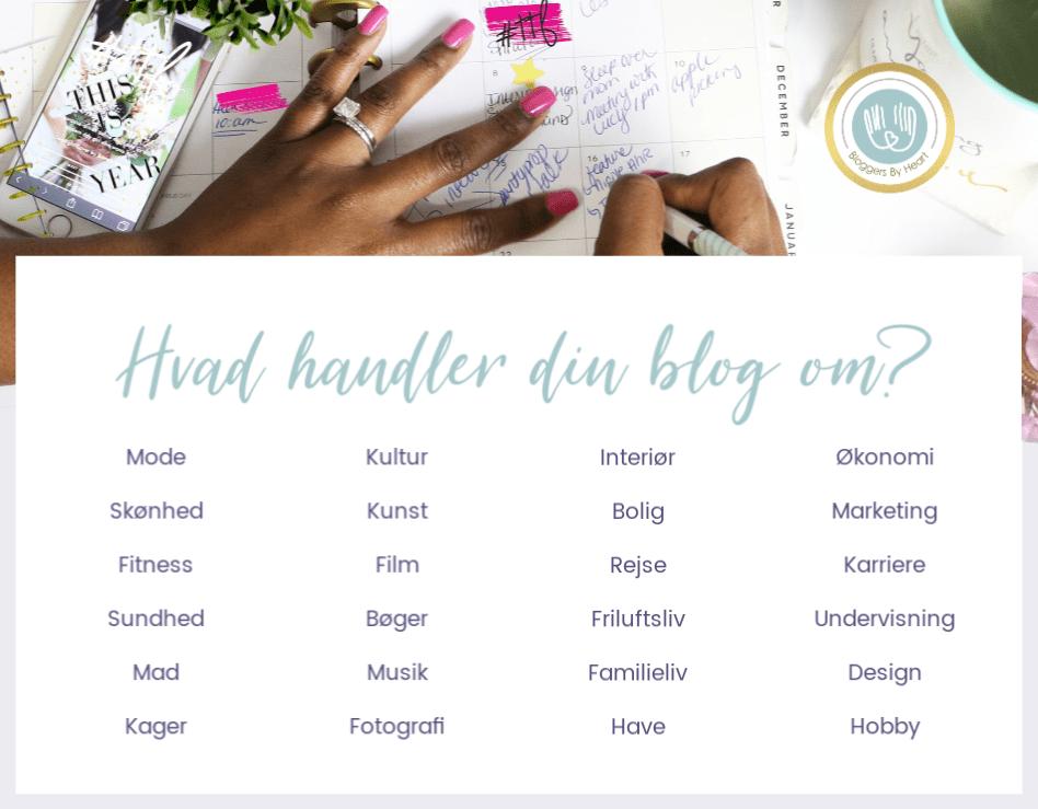 inspiration hvad handler din blog om