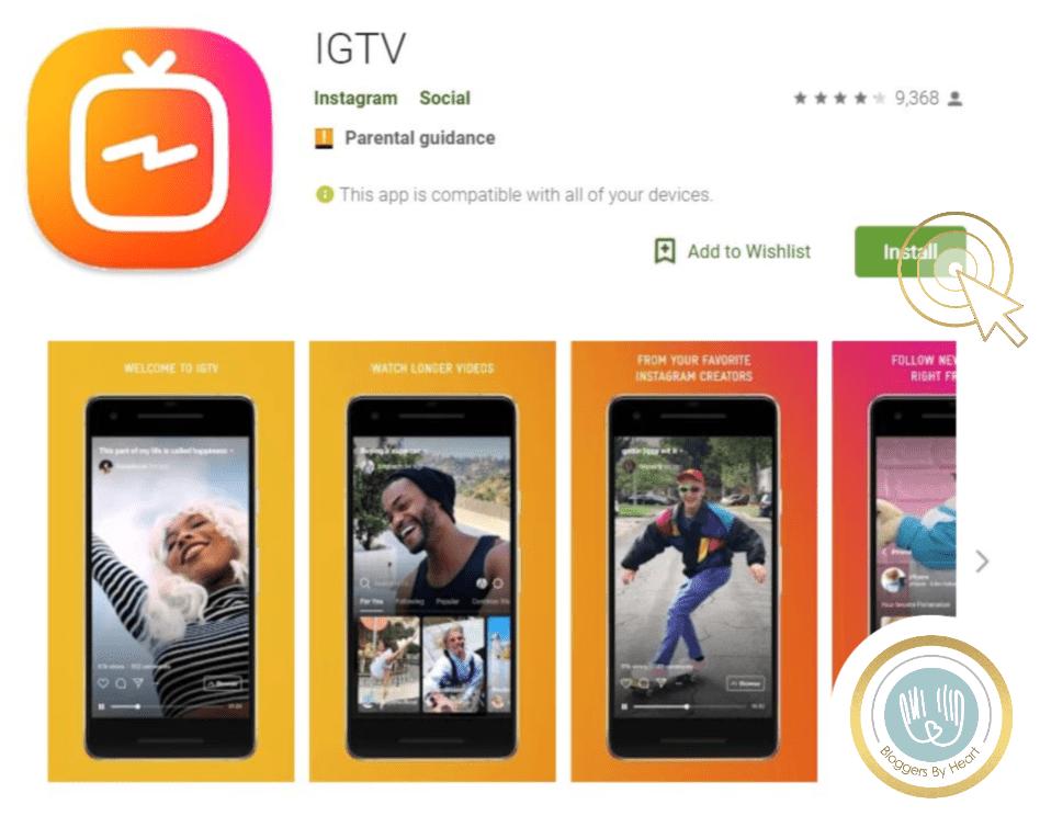 igtv app guide installer