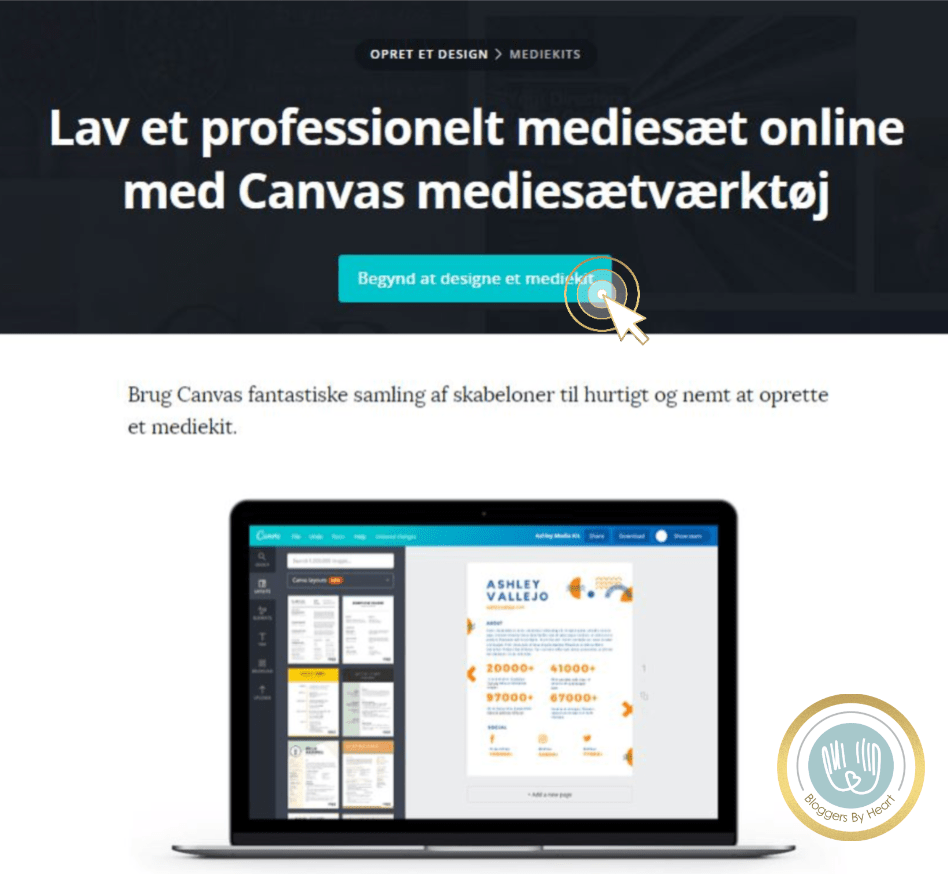 mediekit guide canva