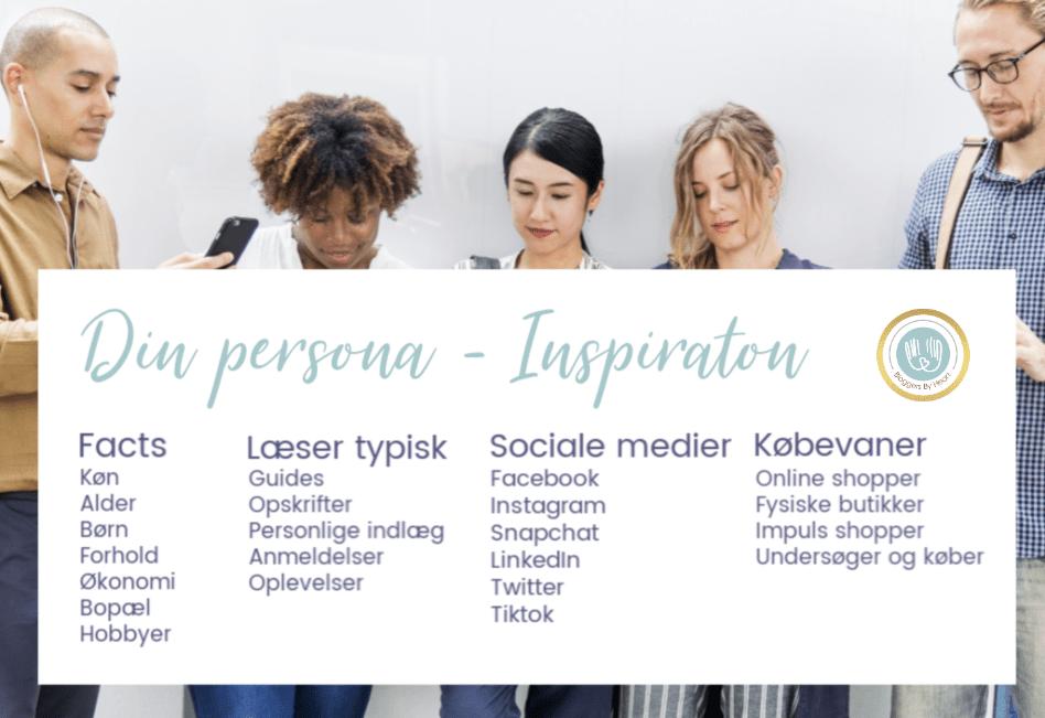 persona guide inspiration