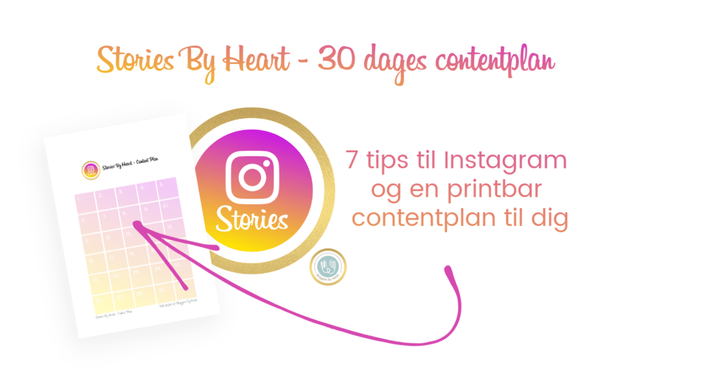 Stories By Heart Instagram story workshop kursus online