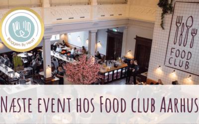 Næste event bliver hos FOOD CLUB Aarhus