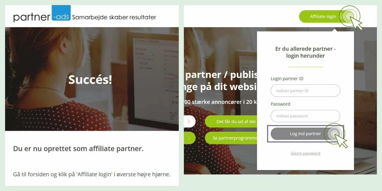 tjen penge på din blog partner ads