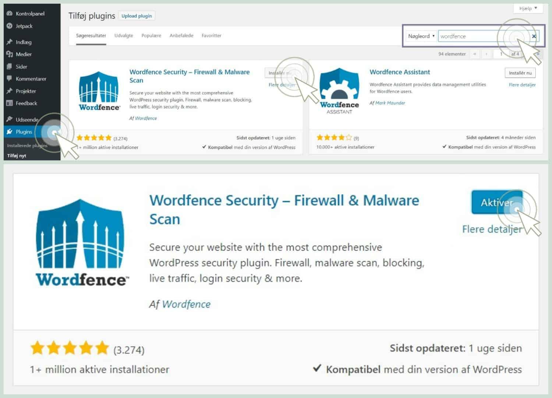 undgå hackerangreb med wordfence security