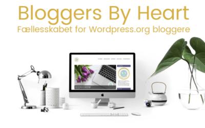 Vigtige ændringer hos Bloggers By Heart