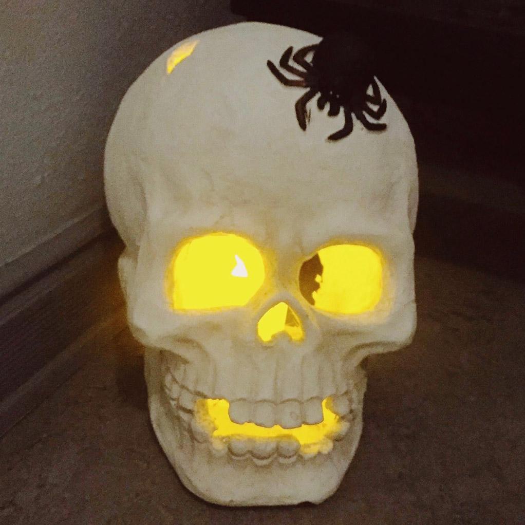 halloween pynt