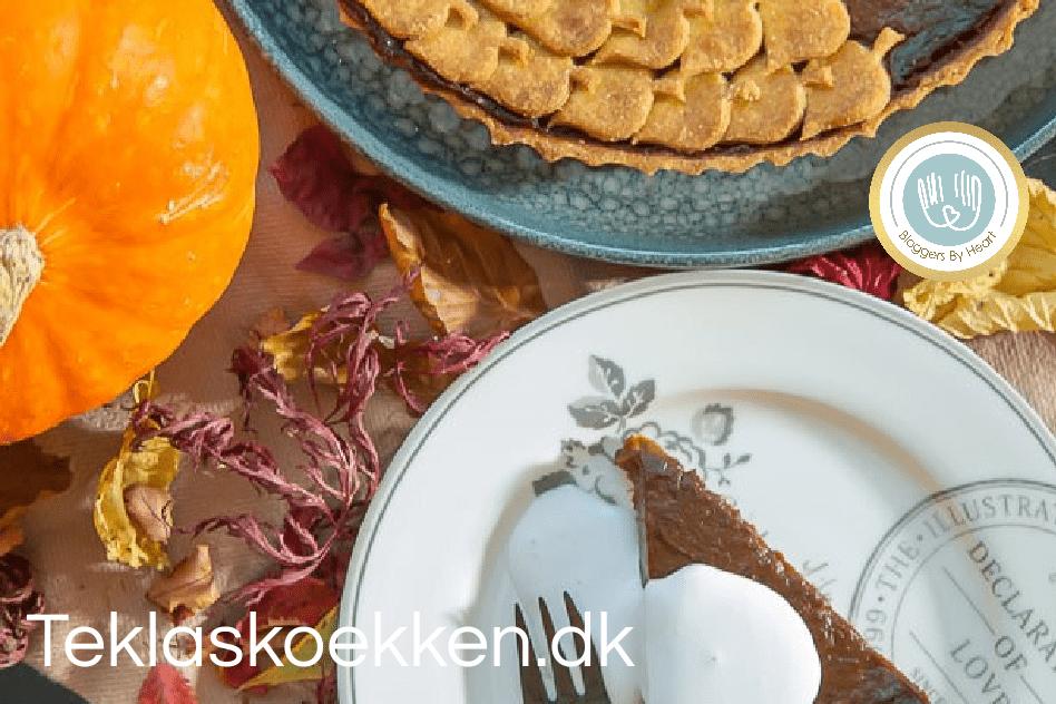 vegansk og glutenfri græskar tærte