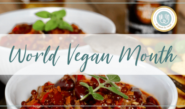 world vegan month chili sin carne