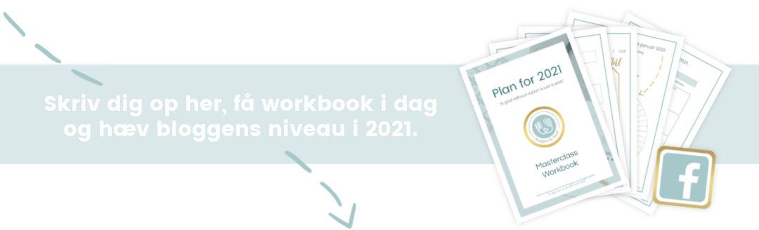 blogger workbook til 2021